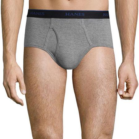 Hanes Comfortblend 5 + 1 Bonus Pair Briefs - Mens, Large , Multiple Colors