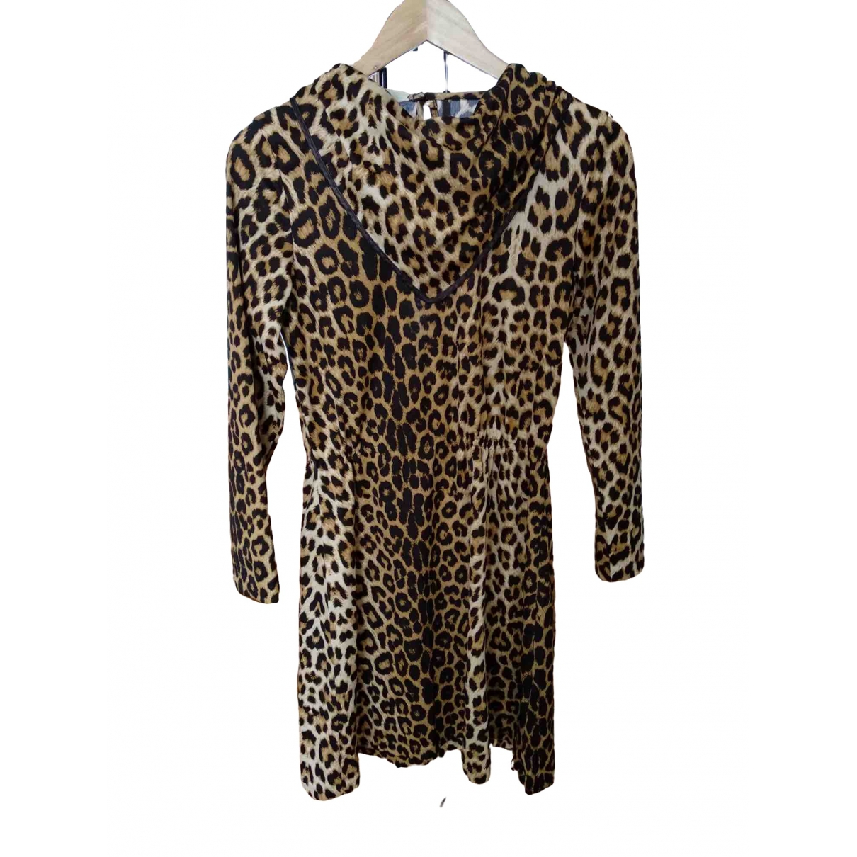 Non Signé / Unsigned \N Camel dress for Women 36 FR