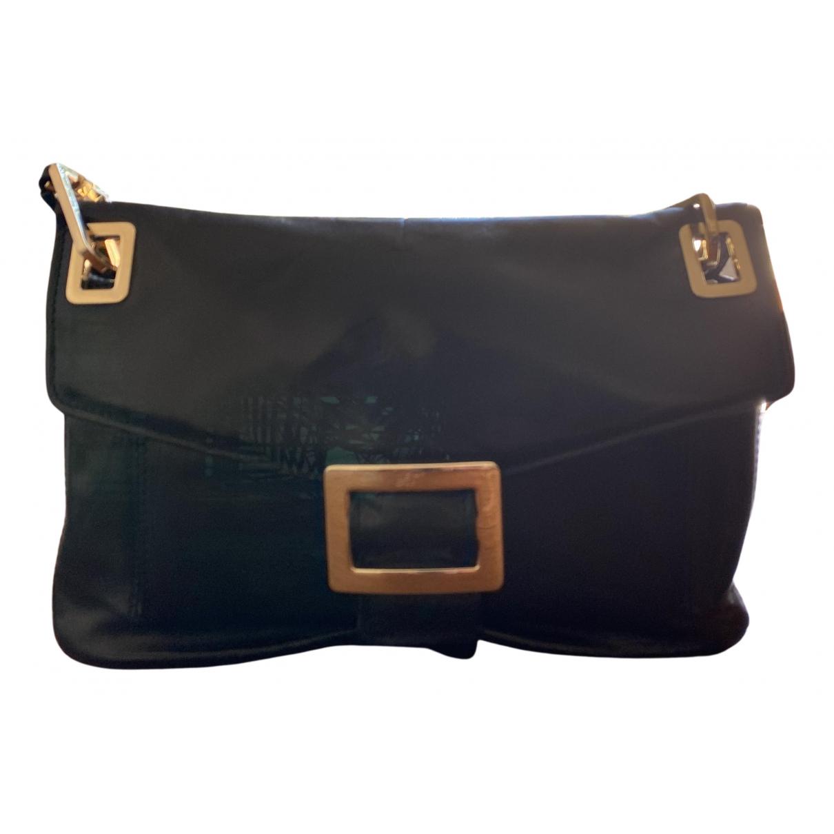 Roger Vivier N Black Leather handbag for Women N