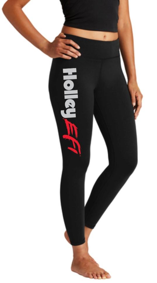 HOLLEY EFI LADIES LEGGINGS - BLACK