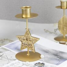 1 Stueck Kerzenhalter mit Stern Design