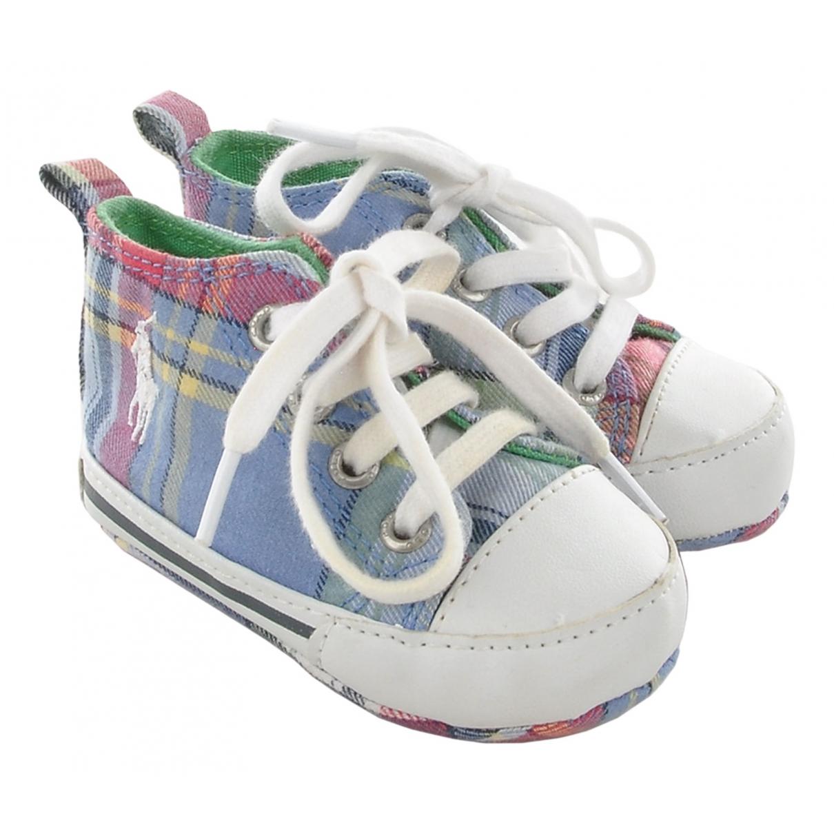 Ralph Lauren \N Sneakers in  Bunt Leinen
