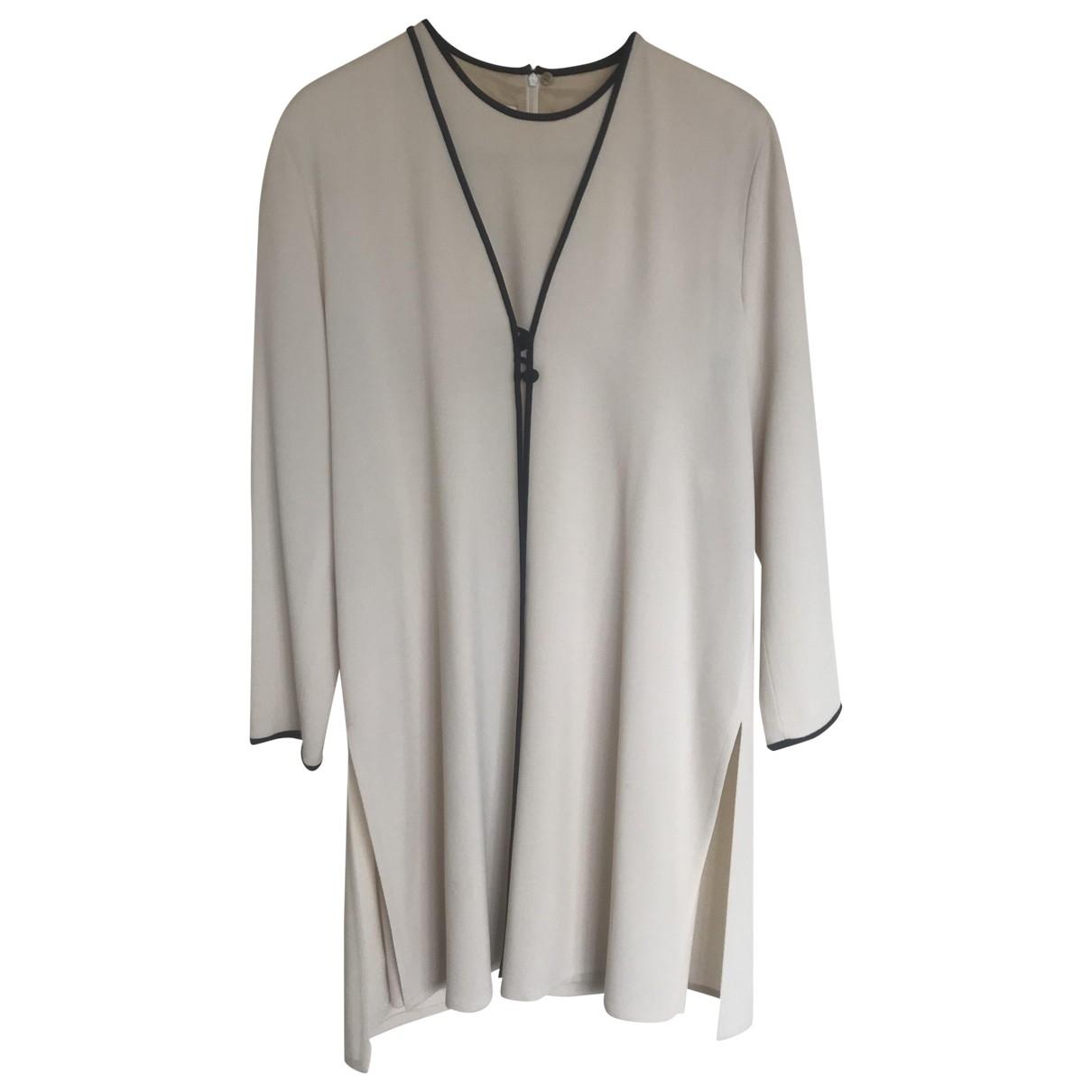 Escada - Robe   pour femme en laine - beige