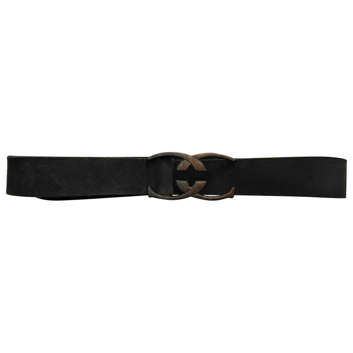 Just Cavalli \N Green Suede belt for Women 80 cm