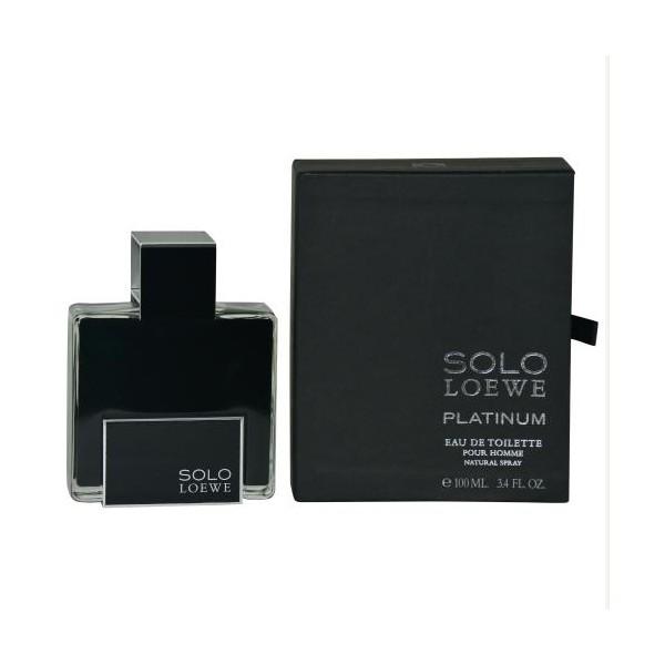 Loewe - Solo Loewe Platinum : Eau de Toilette Spray 3.4 Oz / 100 ml