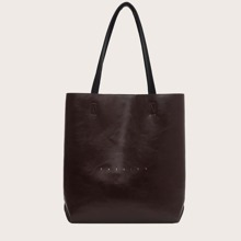 Letter Graphic Tote Bag