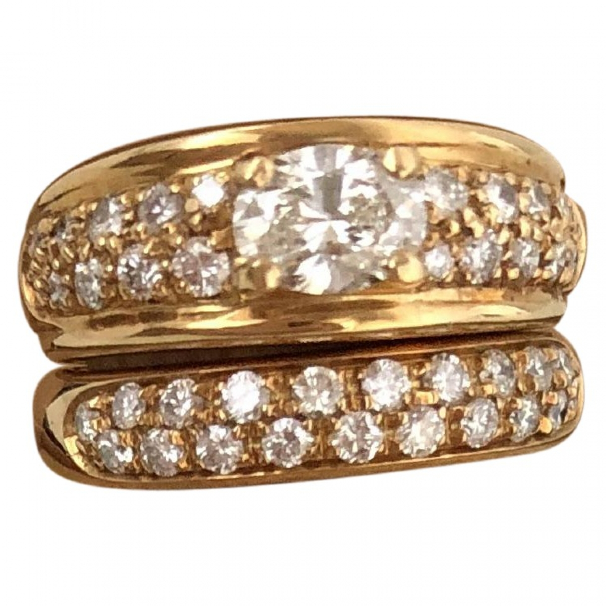 Boucheron \N Gold Yellow gold ring for Women 52 EU