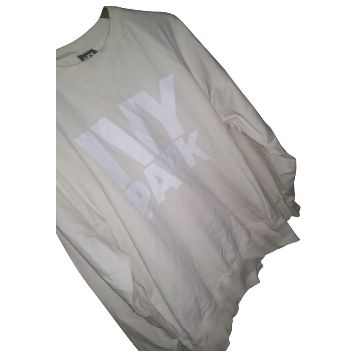 Ivy Park - Pull   pour femme en coton - blanc
