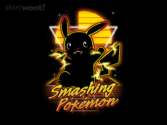 Retro Smashing Pocket Monster T Shirt