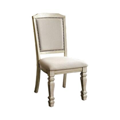 BM131136 Holcroft Transitional Side Chair  Antique White  Set Of