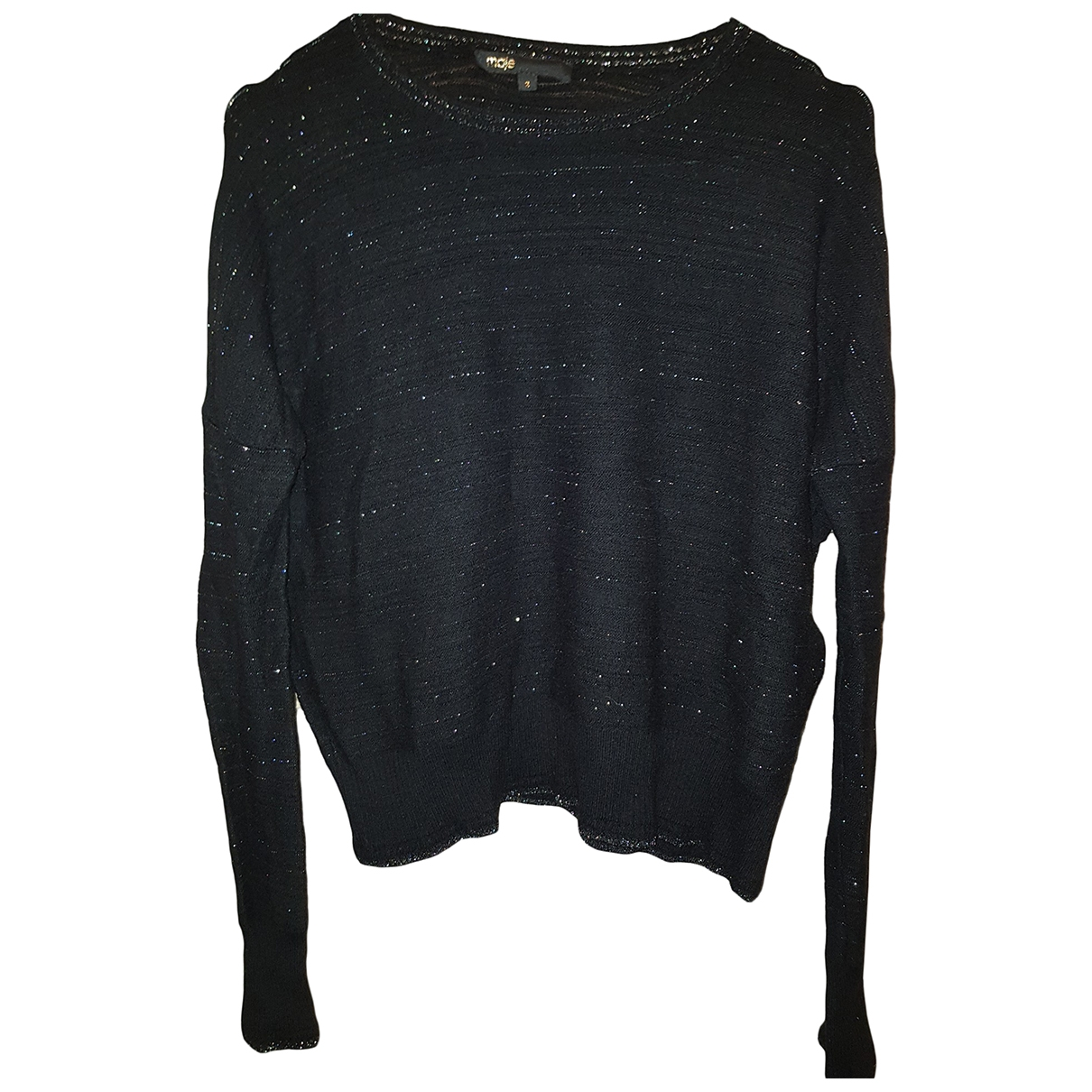 Maje \N Black Wool Knitwear for Women 2 0-5