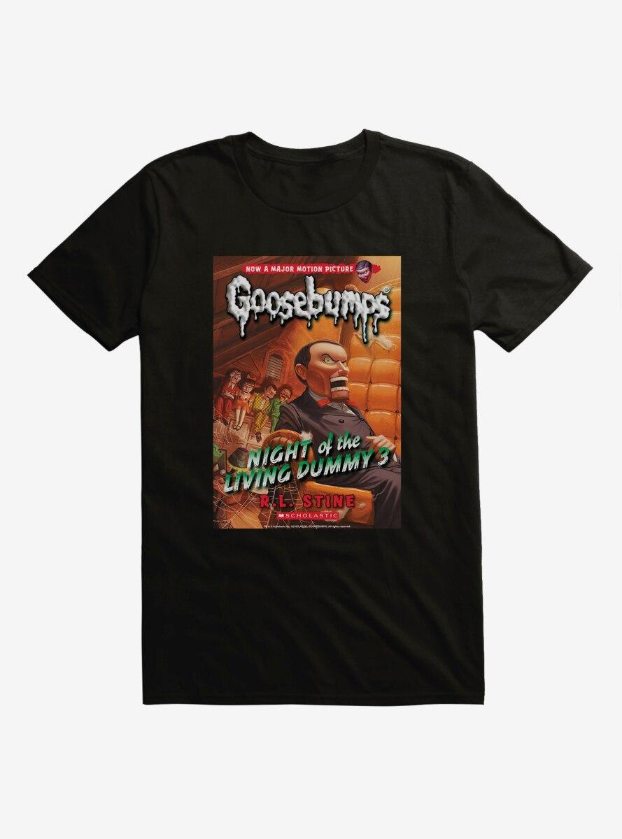 Goosebumps Night Of The Living Dummy 3 Book T-Shirt