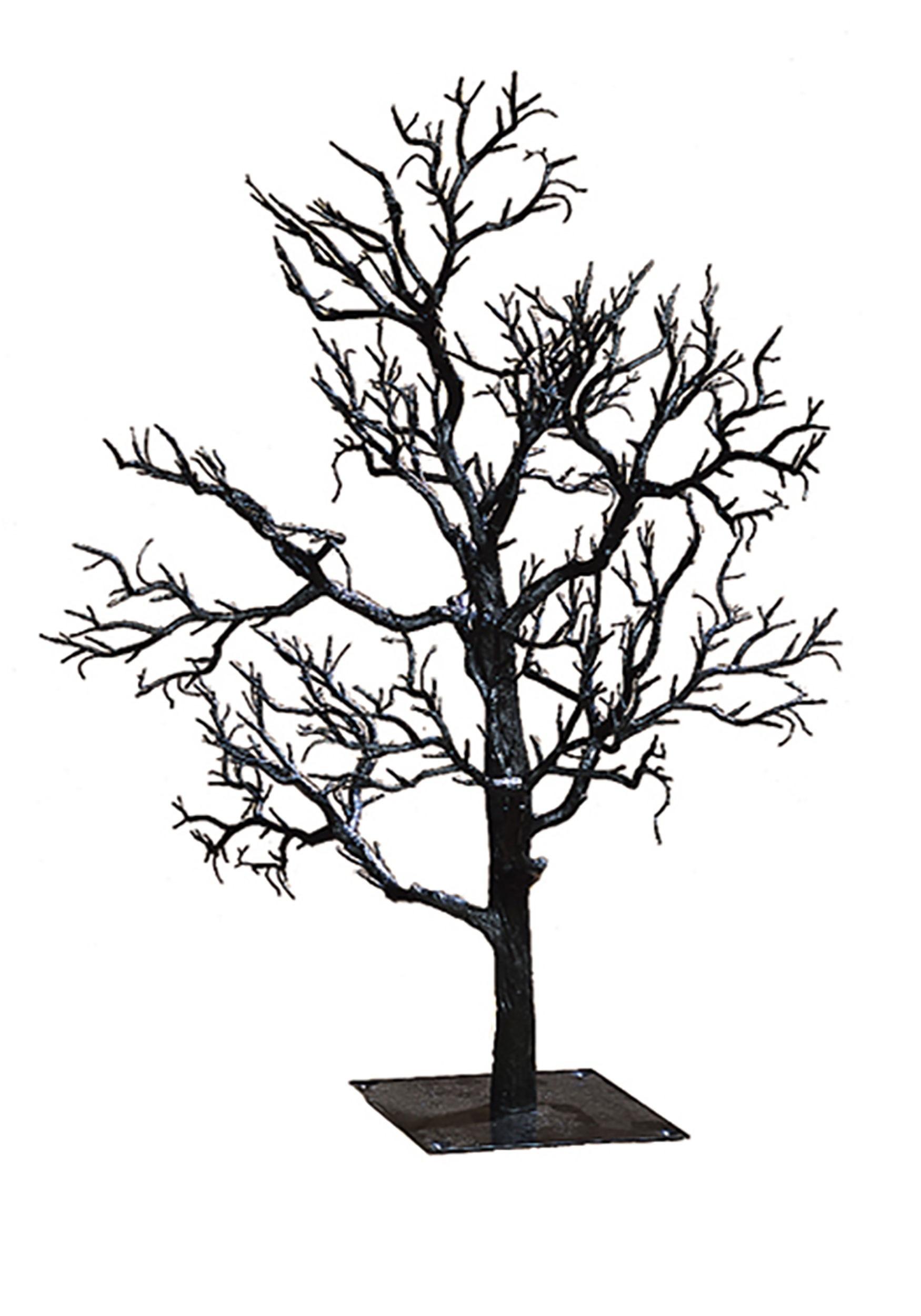 Black 32 Twig Creepy Tree