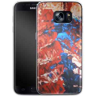 Samsung Galaxy S7 Silikon Handyhuelle - Macro 11 von Gela Behrmann
