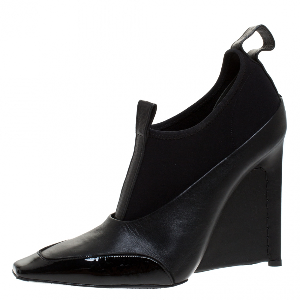 Balenciaga \N Black Leather Boots for Women 9 US