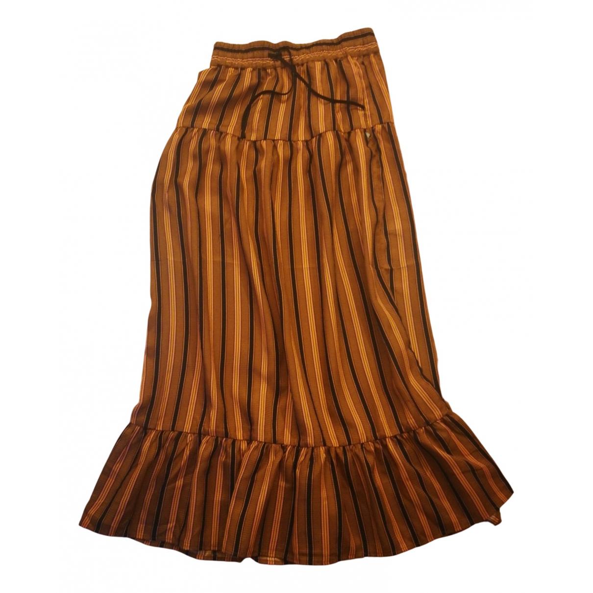 Scotch & Soda N Orange skirt for Women S International