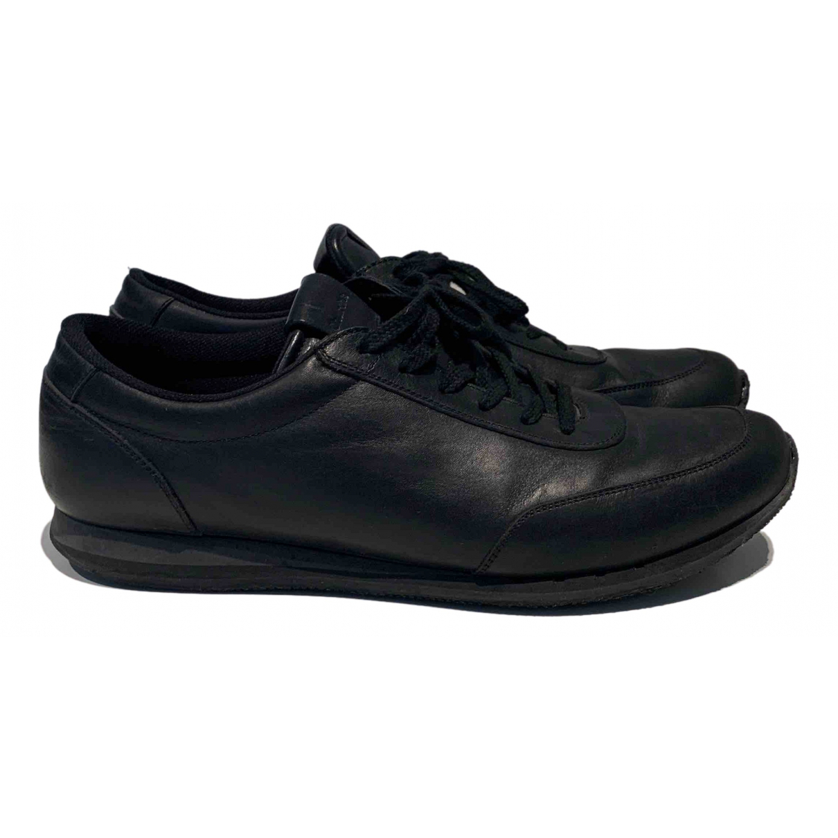 Church's \N Black Leather Trainers for Men 9.5 US