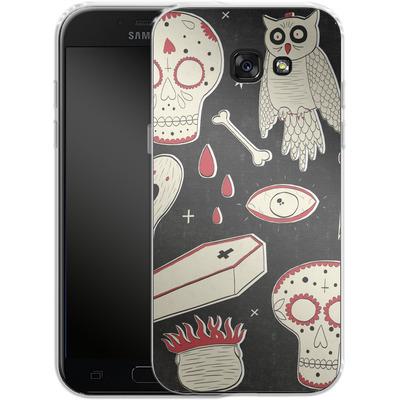 Samsung Galaxy A5 (2017) Silikon Handyhuelle - Halloween Essentials von caseable Designs