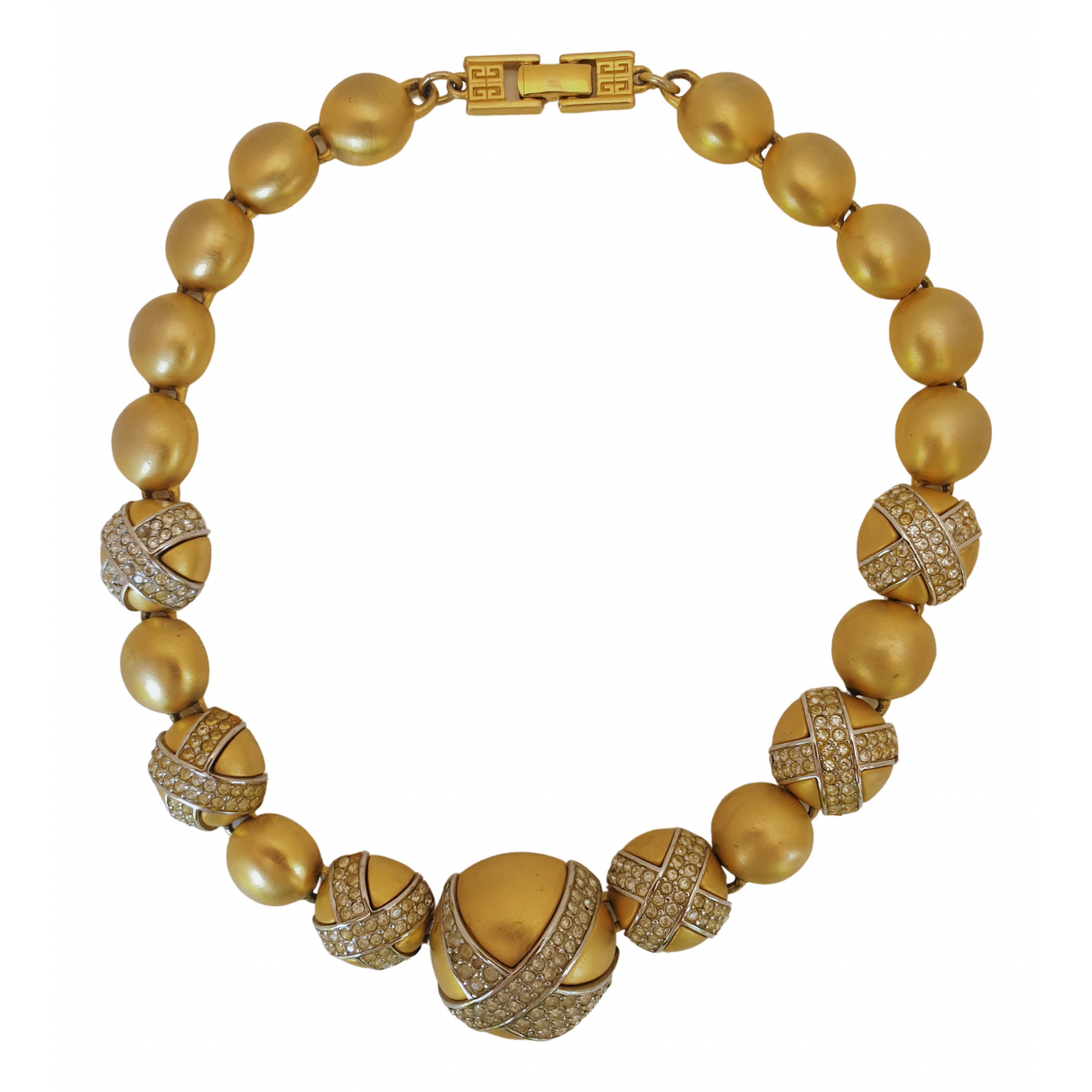 Givenchy \N Gold Metal necklace for Women \N