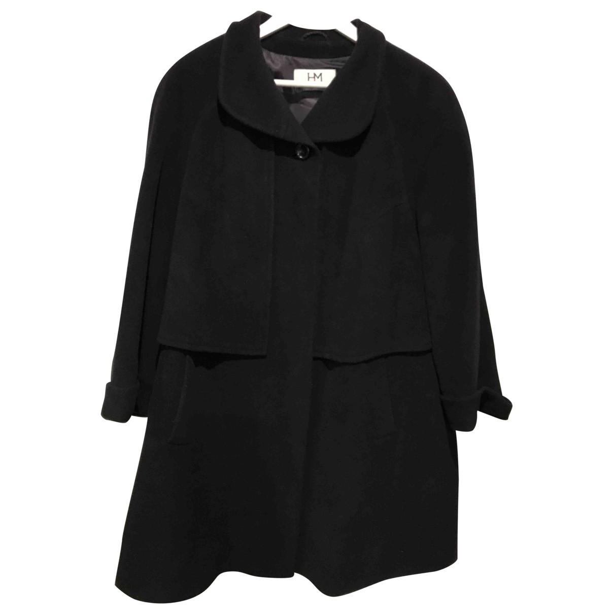 - Manteau Oversize pour femme en laine - bleu