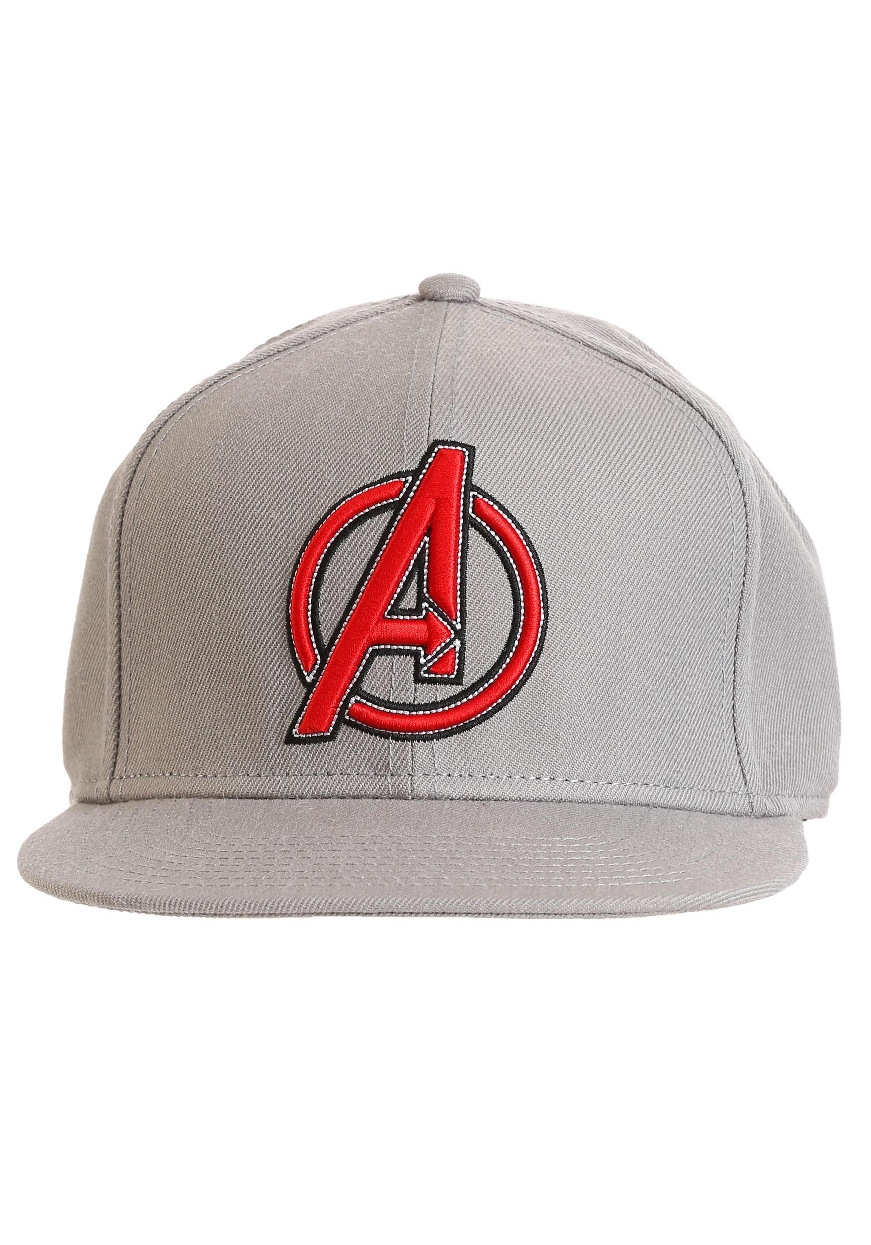 Snap Back Avengers Logo Hat