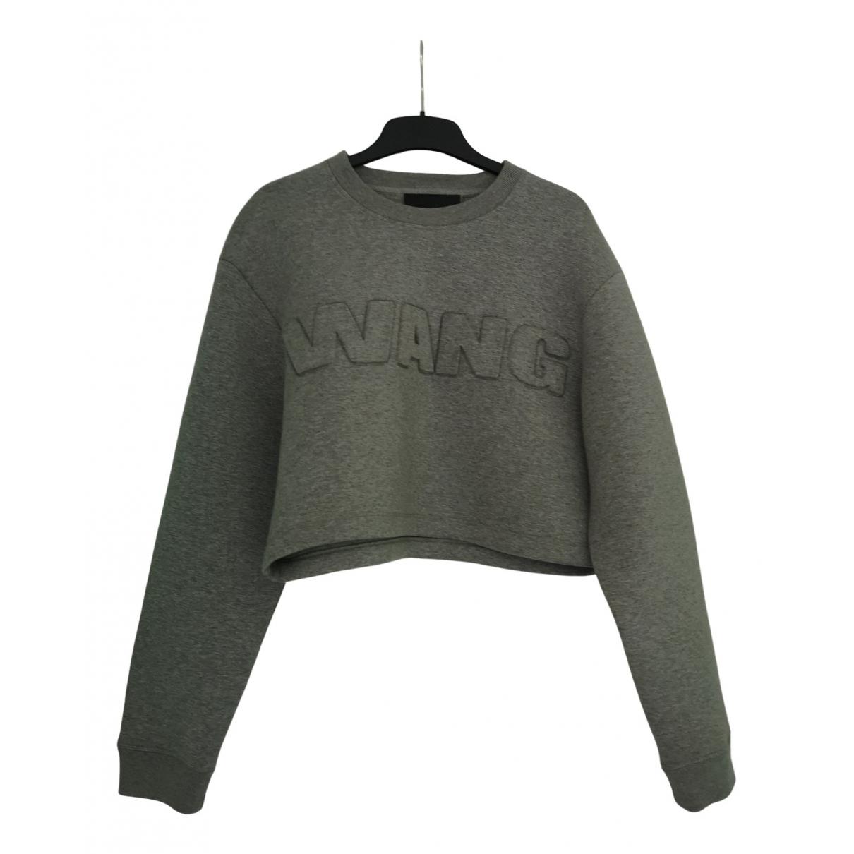 Alexander Wang Pour H&m - Top   pour femme en coton - gris