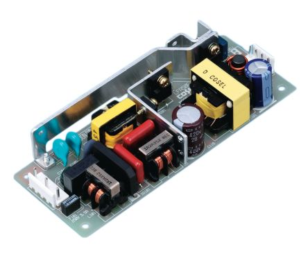 Cosel , 50W Switching Power Supply, 24V dc, Open Frame