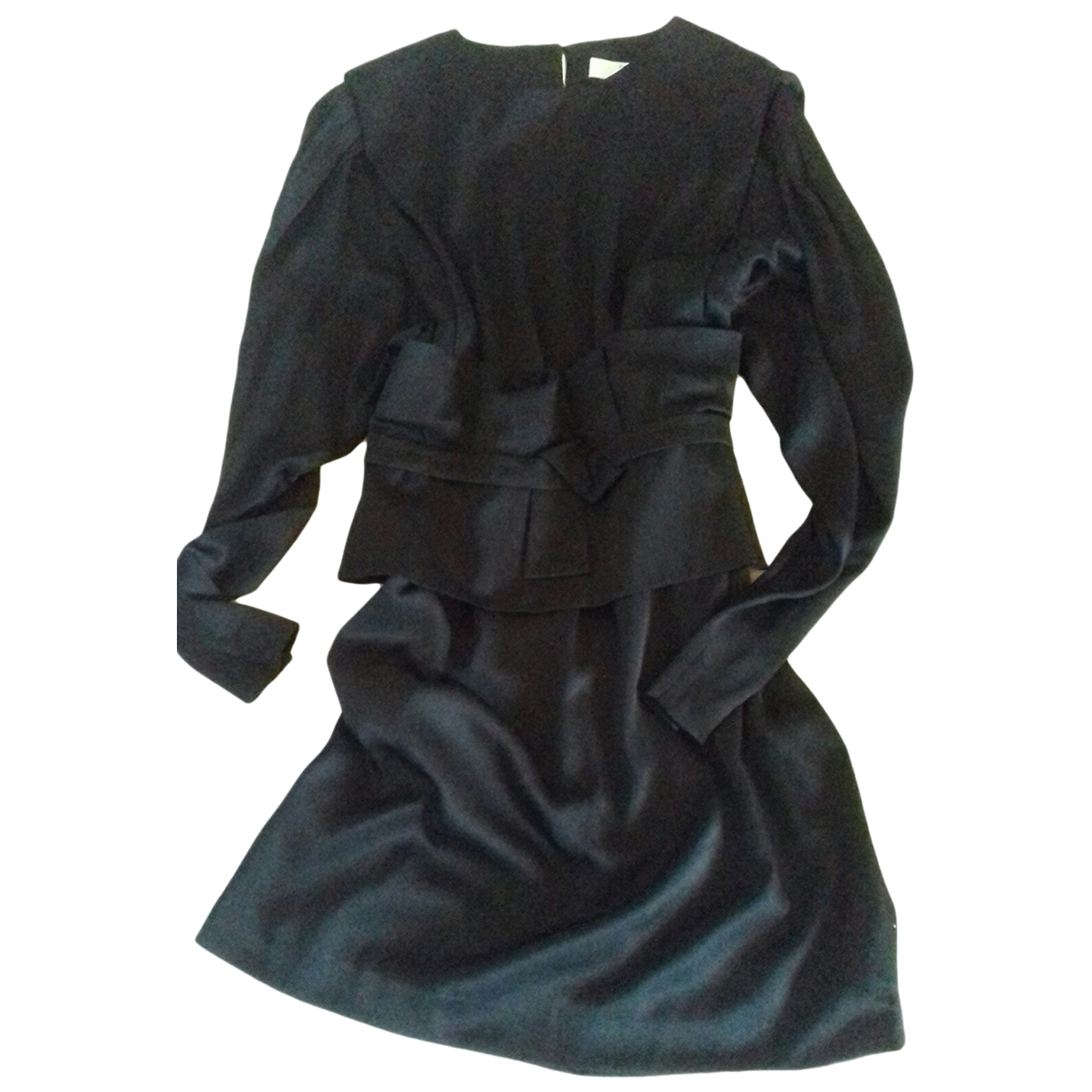 Hoss Intropia \N Kleid in  Schwarz Seide