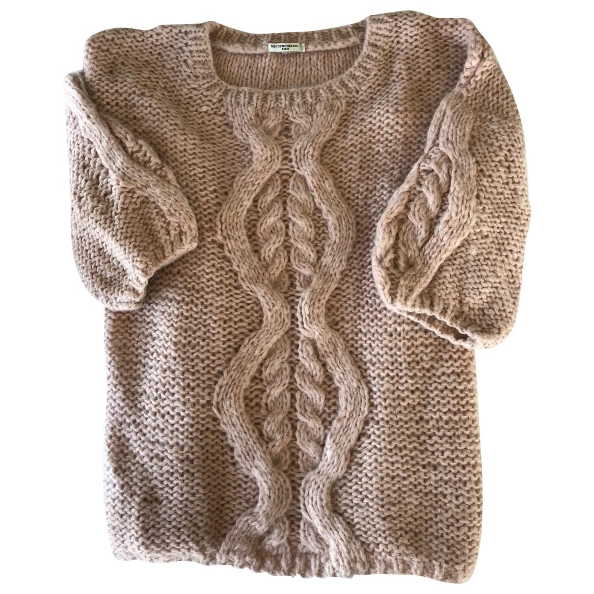 Mes Demoiselles ... \N Pink Wool Knitwear for Women L International