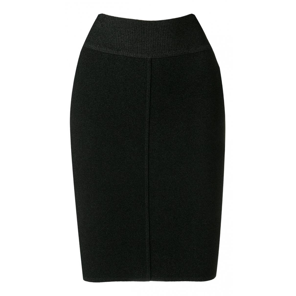 Alaïa N Black Wool skirt for Women 40 IT