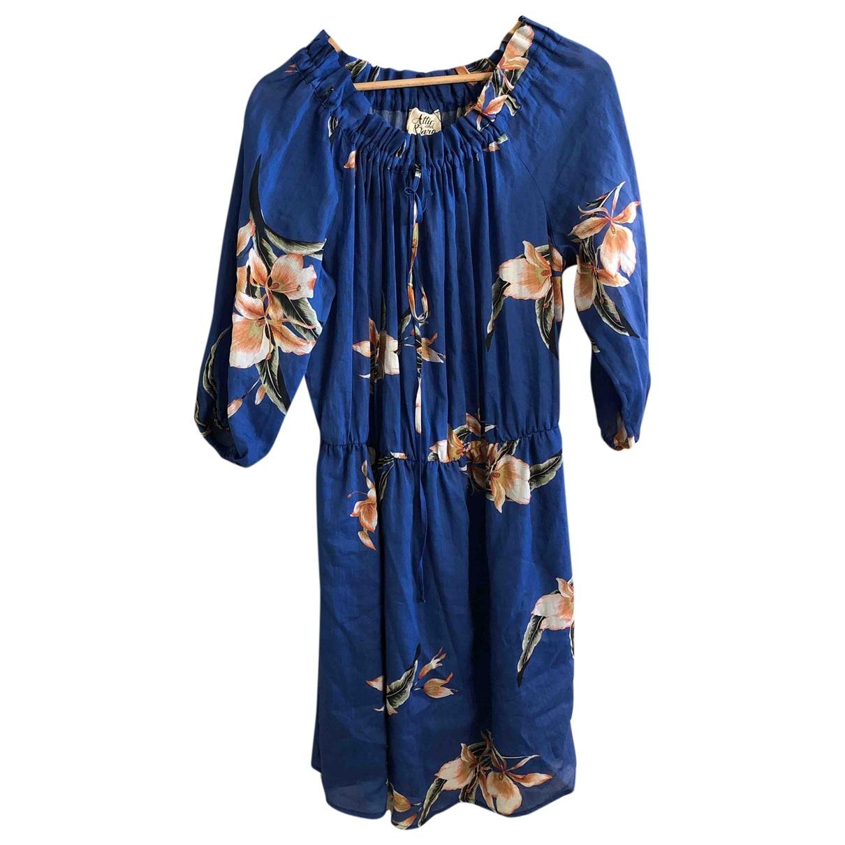 Attic And Barn - Robe   pour femme - bleu