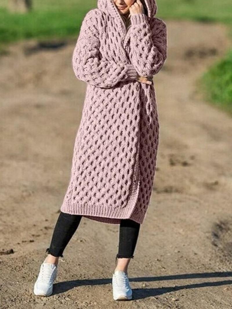 Ericdress Long Loose Women's Sweater