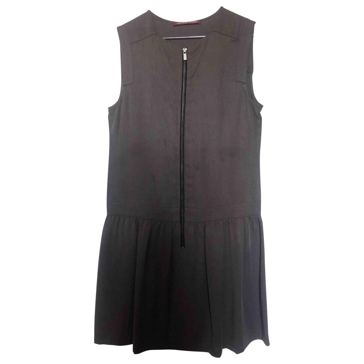 Comptoir Des Cotonniers \N Grey Cotton dress for Women 34 FR