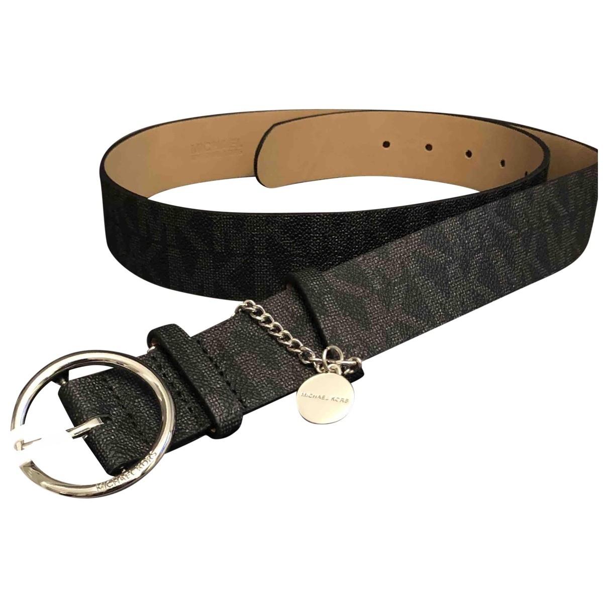 Michael Kors \N Black belt for Women M International