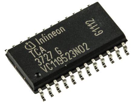 Infineon TCA3727GXUMA1, Stepper Motor Driver IC, 50 V 0.75A 24-Pin, DSO