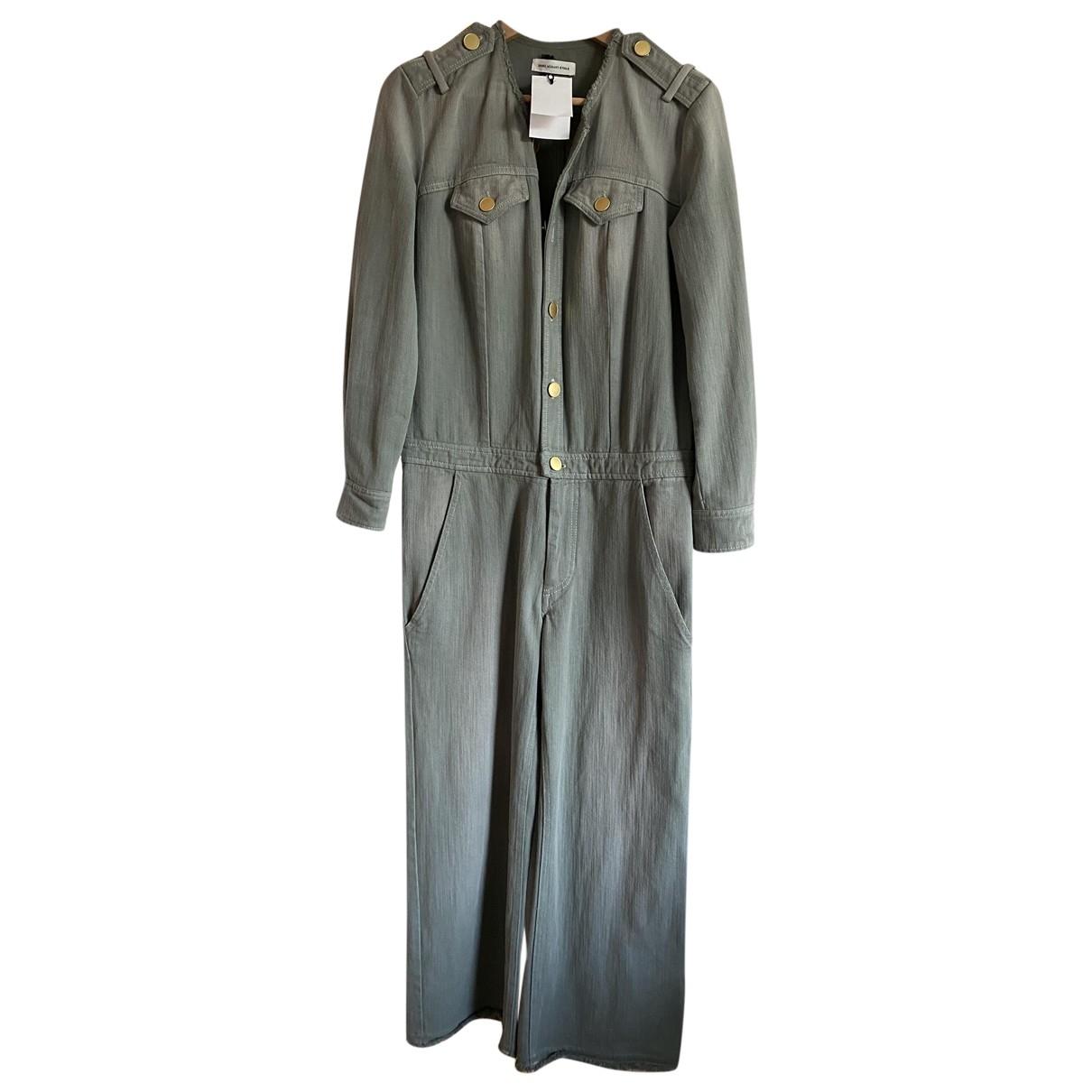 Isabel Marant Etoile \N Khaki Cotton jumpsuit for Women 38 FR