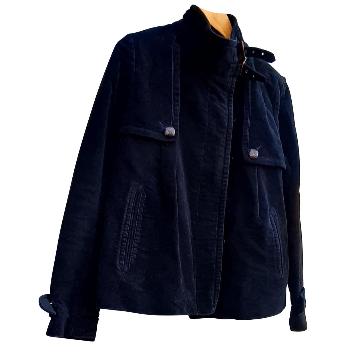 Comptoir Des Cotonniers - Veste   pour femme en velours - bleu