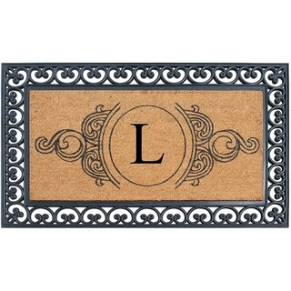 A1HC Rubber and Coir, 30 x 48 Inch, Standard Double/Single Heavy Doormat, Large Size, Rubber Backed, Outdoor Mat (L)