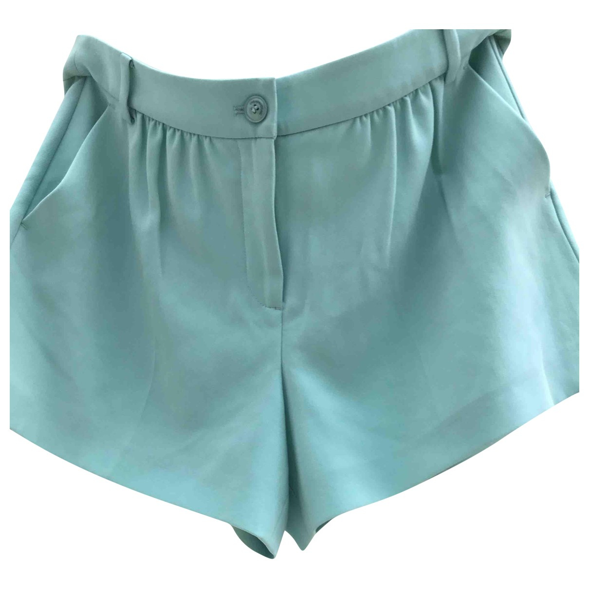 Moschino Cheap And Chic \N Shorts in  Gruen Polyester