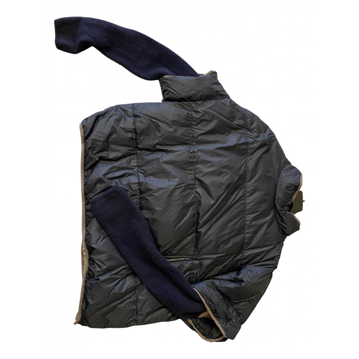 Brunello Cucinelli - Manteau   pour femme - bleu