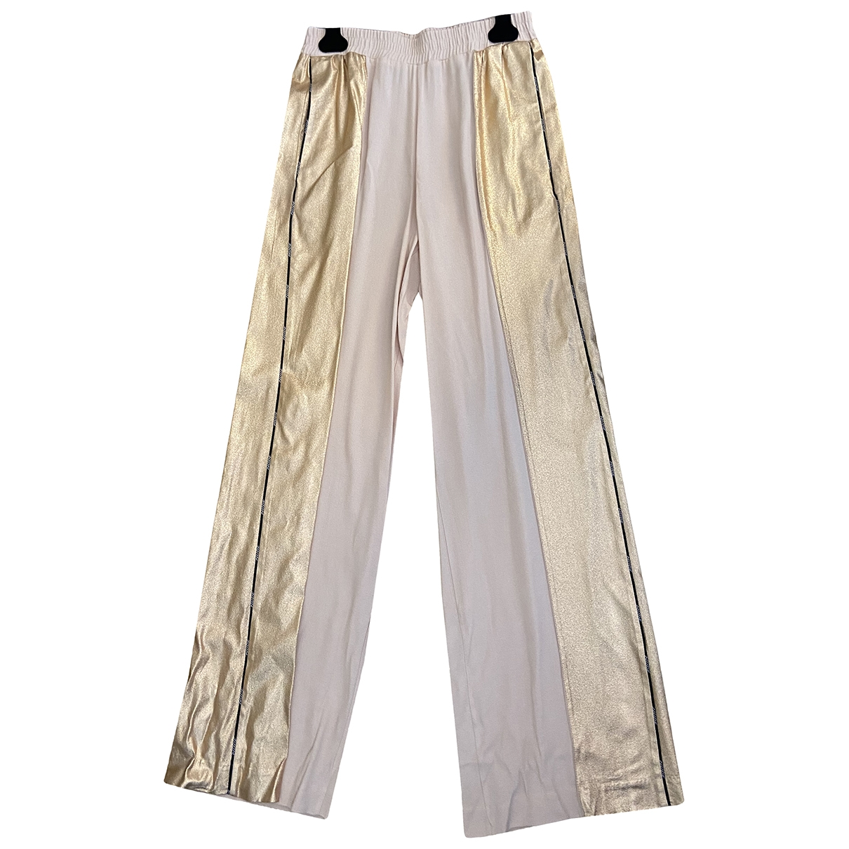 Non Signé / Unsigned \N Pink Trousers for Women 40 IT