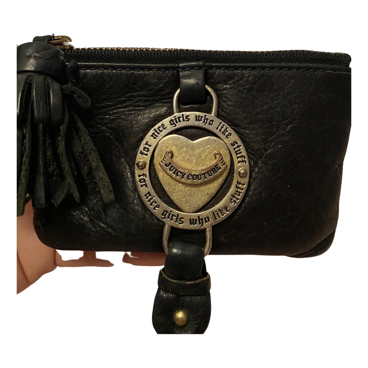 Juicy Couture N Black Leather wallet for Women N