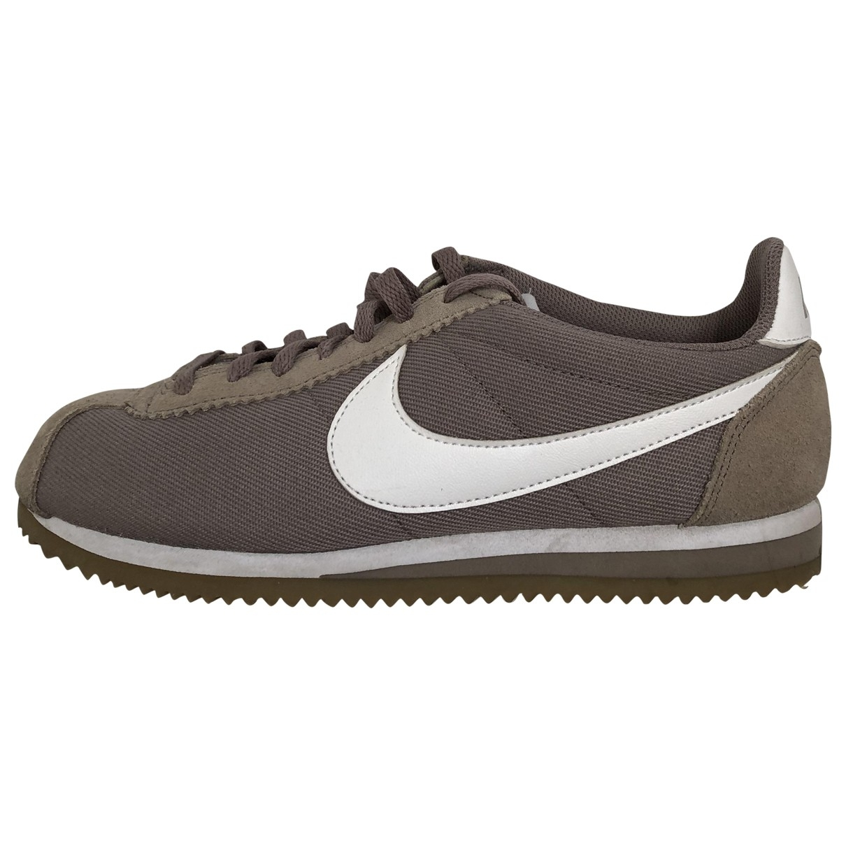 Nike Cortez Beige Cloth Trainers for Women 6 UK