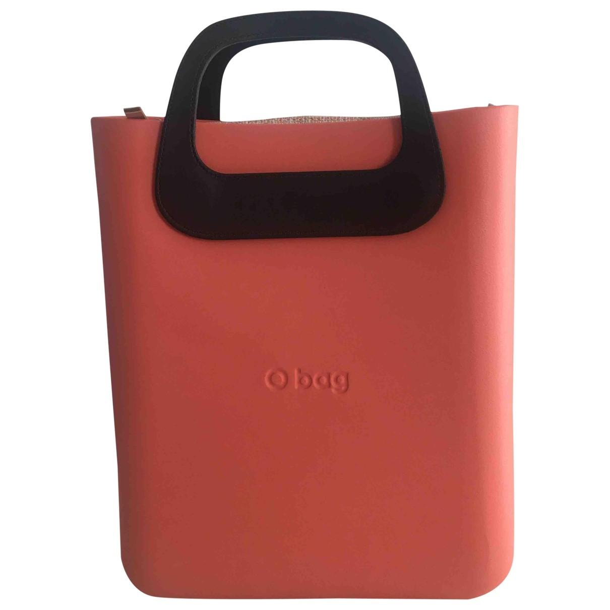 Non Signe / Unsigned \N Handtasche in  Kamel Kunststoff