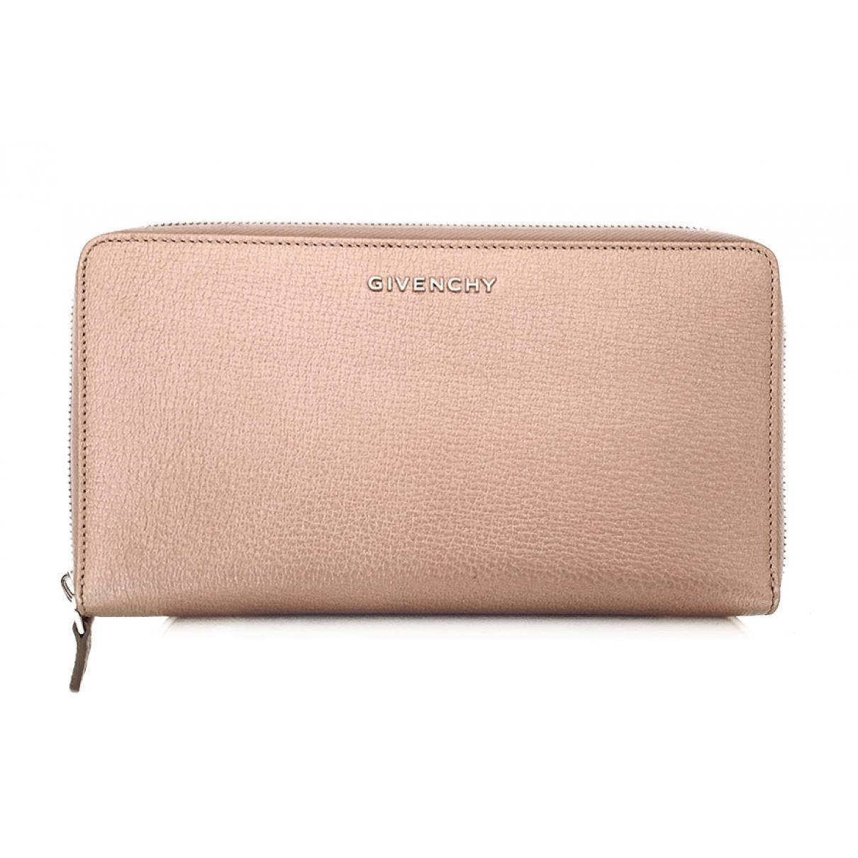 Givenchy \N Portemonnaie in  Rosa Leder
