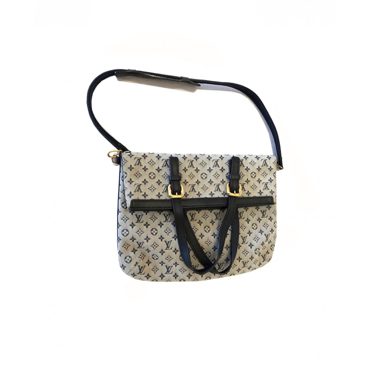 Louis Vuitton - Sac a main Francoise  pour femme en toile - gris