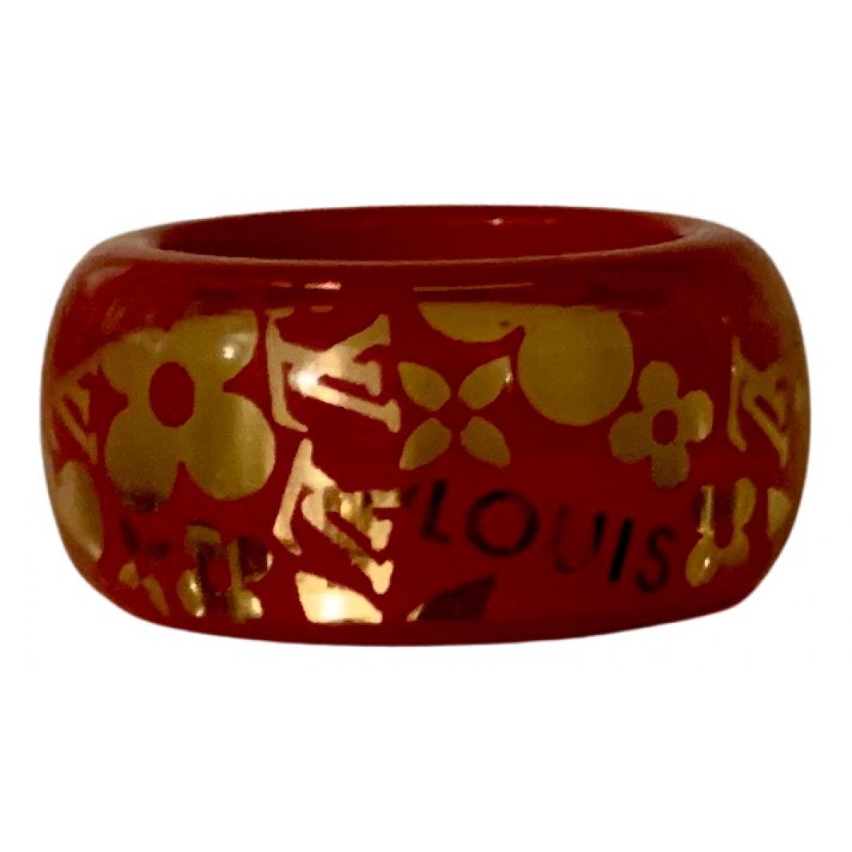 Louis Vuitton - Bague Inclusion pour femme - rouge