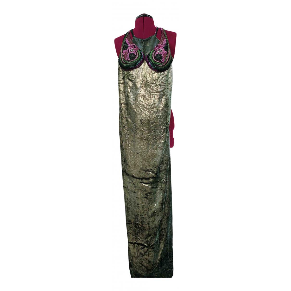 American Vintage N Turquoise Velvet dress for Women S International
