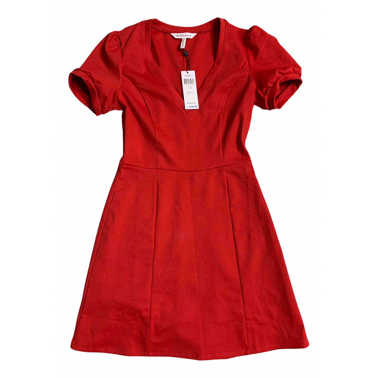Non Signé / Unsigned \N Red dress for Women XS International