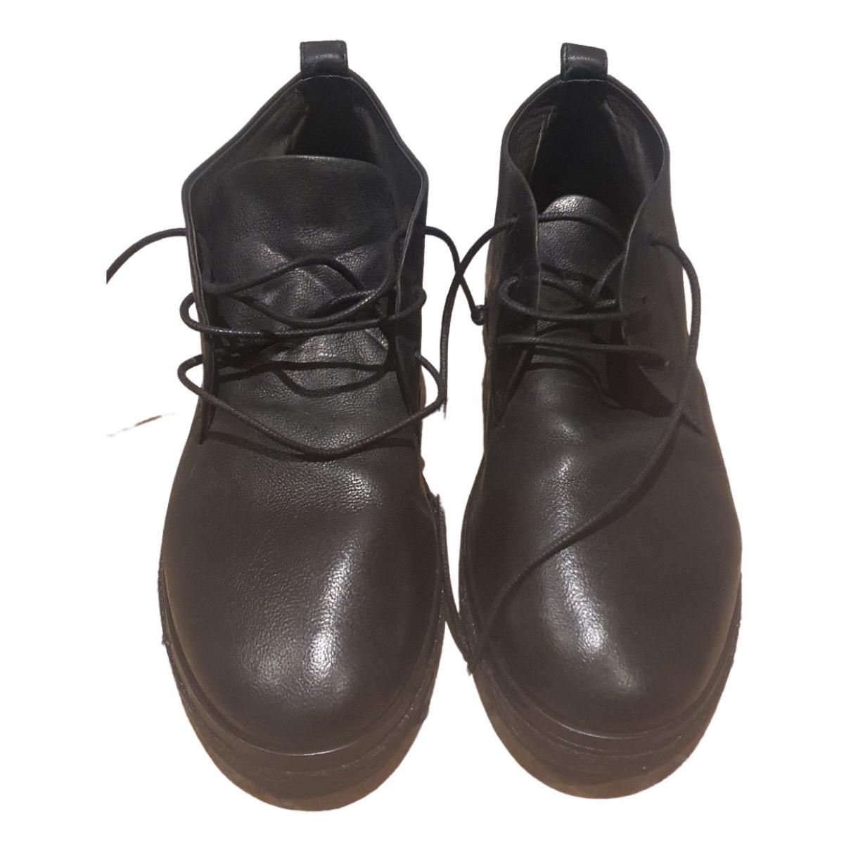 Marsèll \N Black Leather Boots for Men 41.5 EU